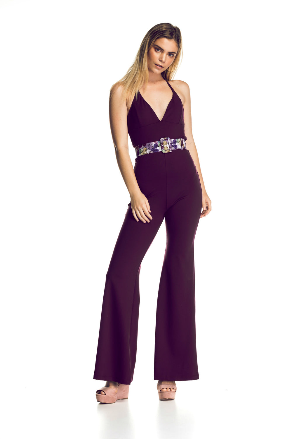 "Halter Body-Con Jumpsuit ""Dance Sista"""