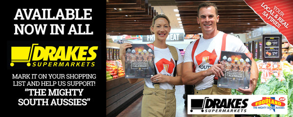 SA Firefighters Calendar Available @ All Drakes Foodlands