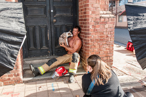 South Australian Firefighters Calendar - Jessica Clark Photography