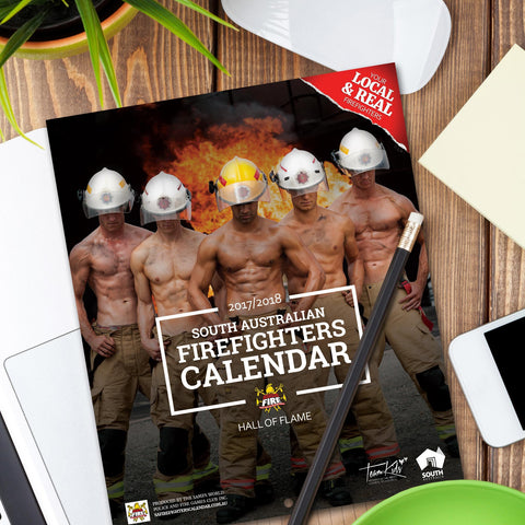 2017-18 South Australian Firefighters Calendar + FREE SHIPPING
