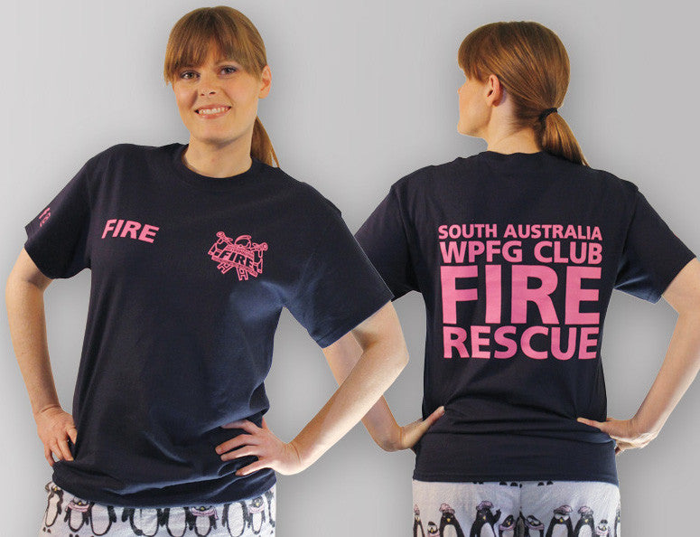 Limited Edition SAMFS World Police & Fire Games Club t-shirt