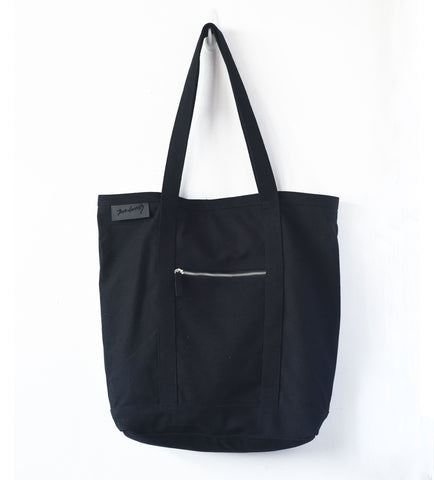 Signature Black Messenger Bag