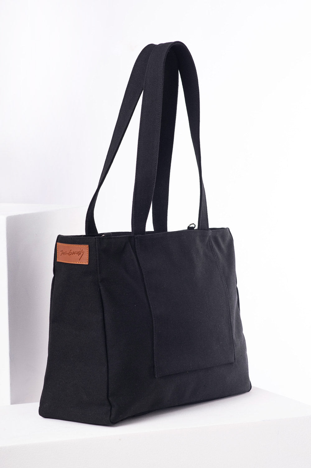Black Multi-wear Tote Bag