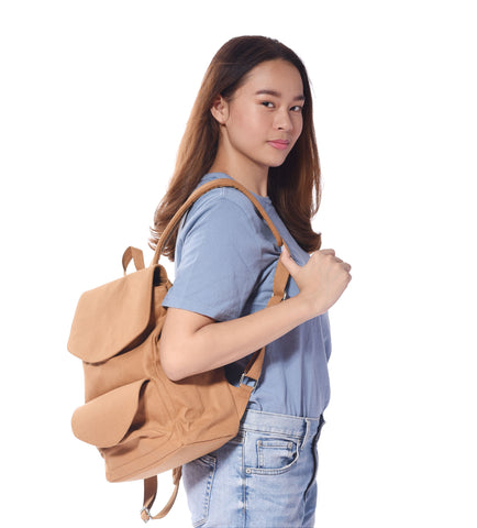 Brown Daily Tote Bag