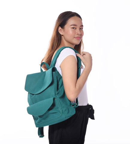 Green Daily Tote Bag