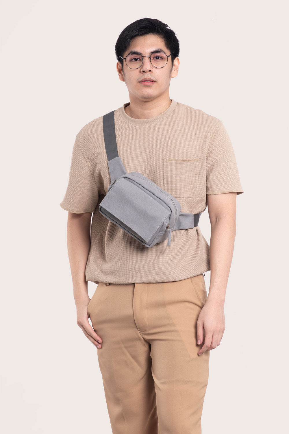 Grey Daily Belt Bag