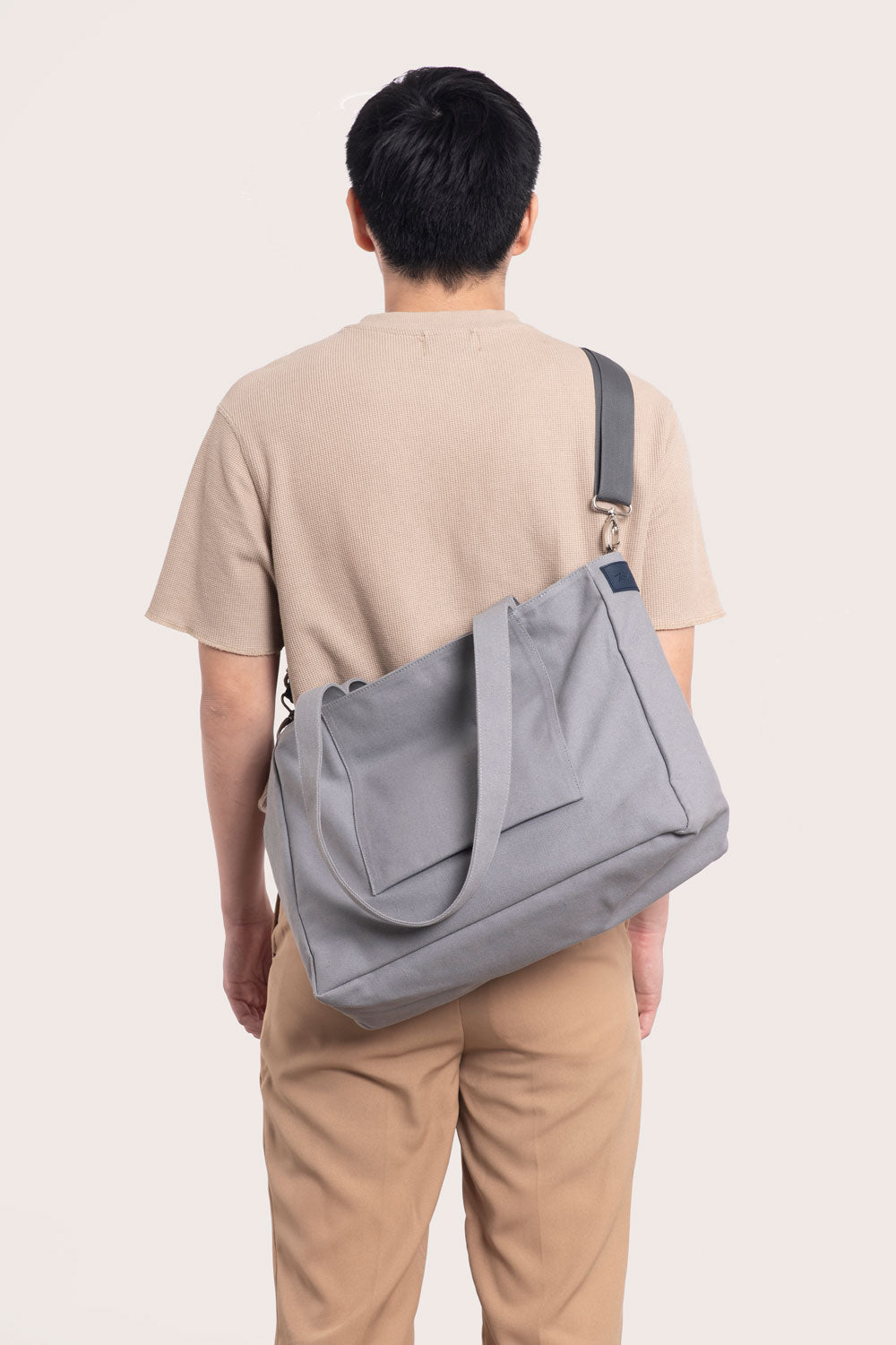 Grey Multi-wear Tote Bag
