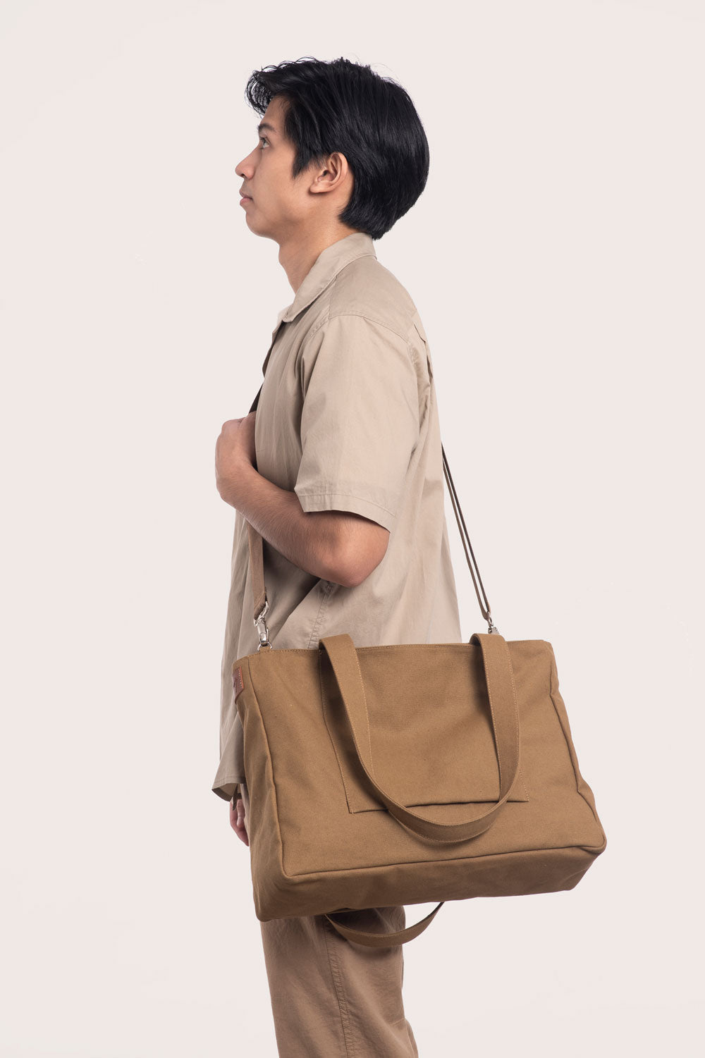 Brown Multi-wear Tote Bag