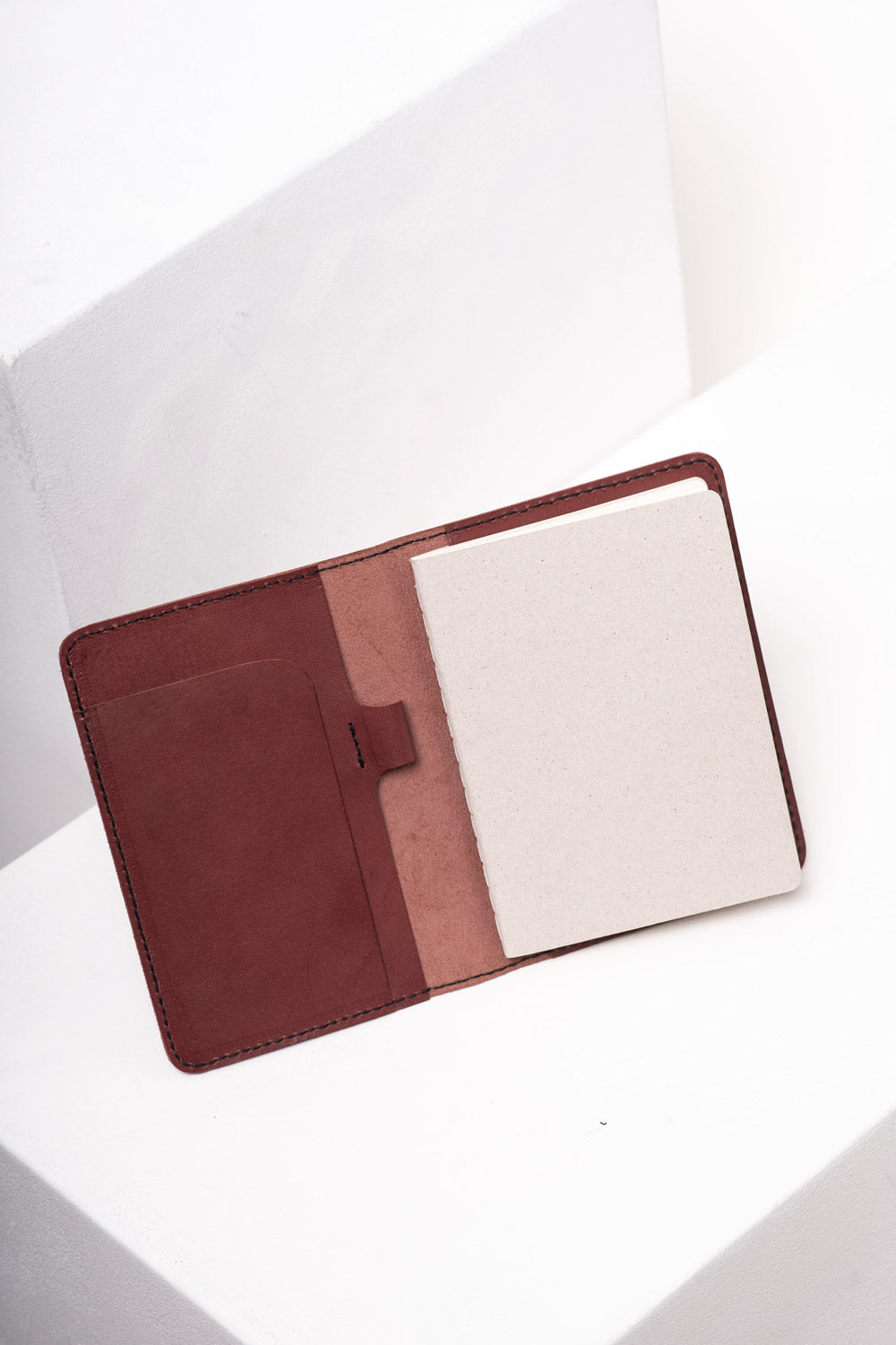 Maroon A6 Notebook Case