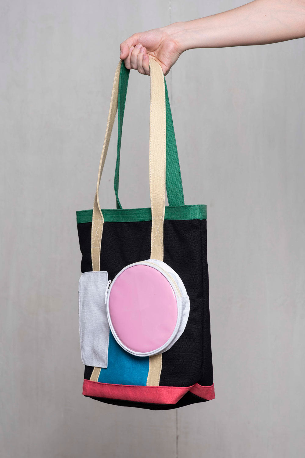 RANDOLF +ZG Pop Block Tote Bag
