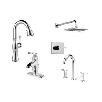 Shop Chrome Finish Faucets
