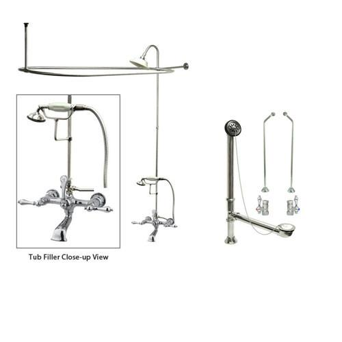 Clawfoot Tub Faucet Tub Filler Faucets for Freestanding Bathtubs