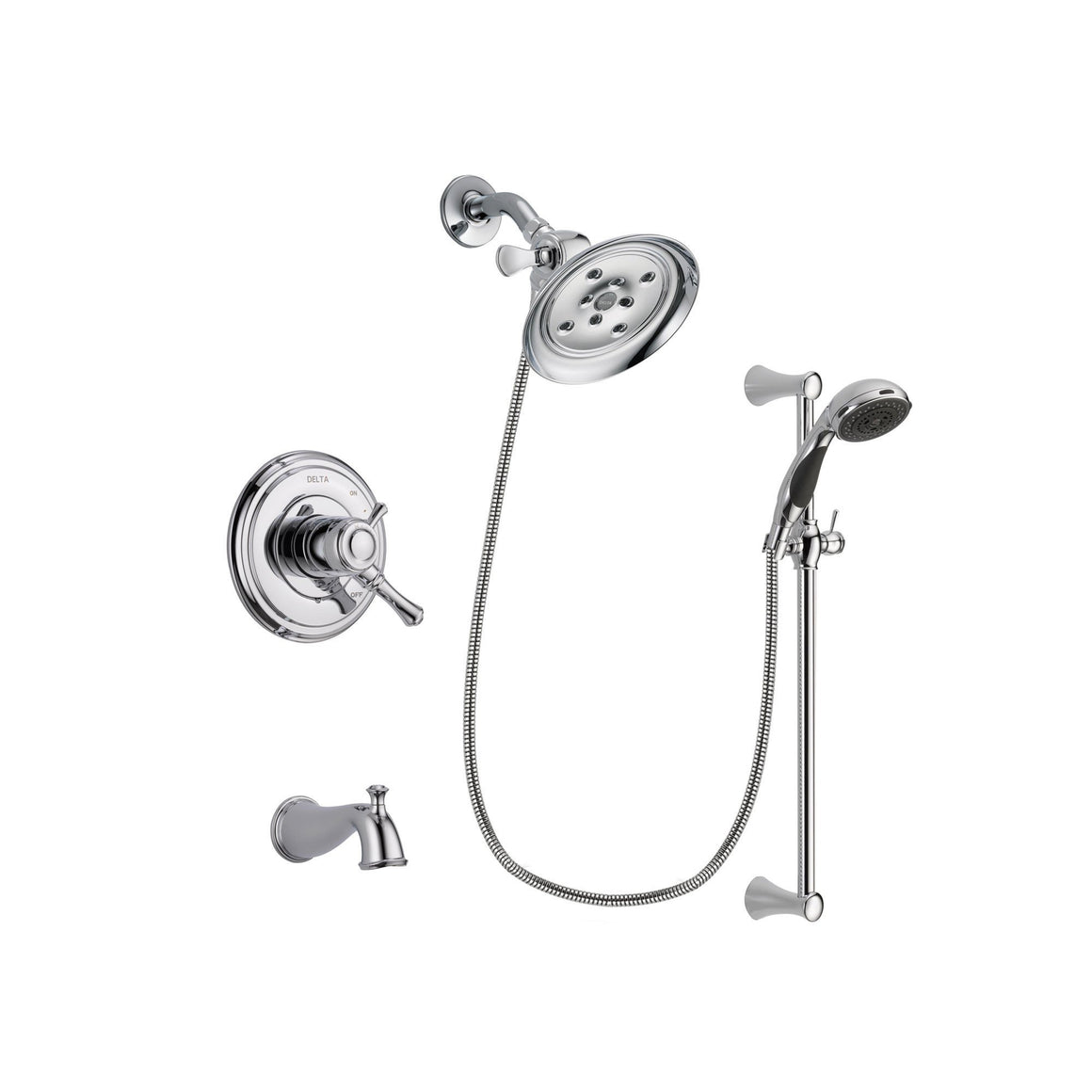 Easy Install Tub and Shower System Packages - Get a Hand Shower ...