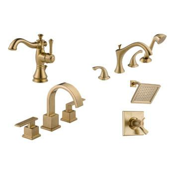 Shop Gold Finish Faucets