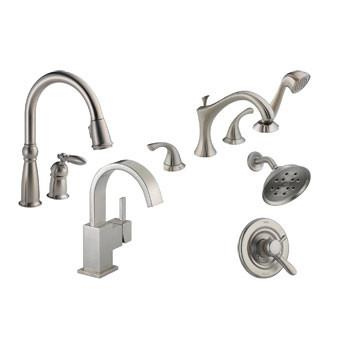 Shop Nickel / Stainless Steel Finish Faucets