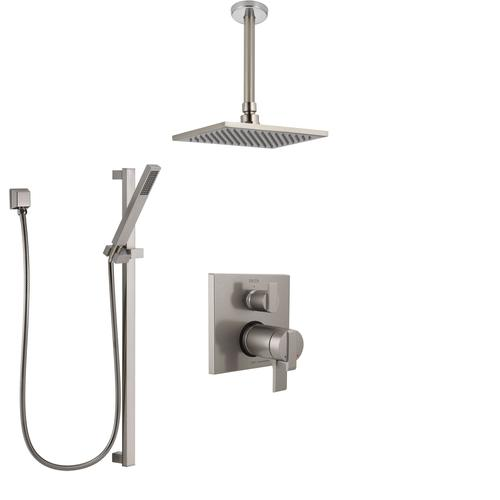 Shower Systems with Integrated Diverter Control
