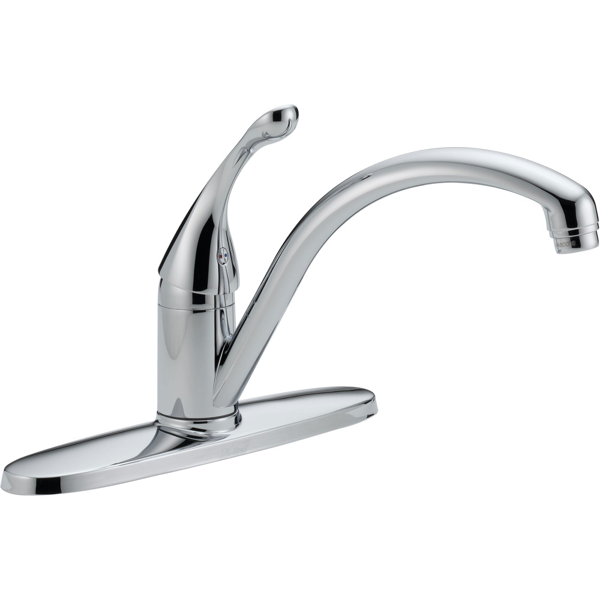 Delta Collins Single Lever Handle Chrome Water Efficient Kitchen Faucet 465276