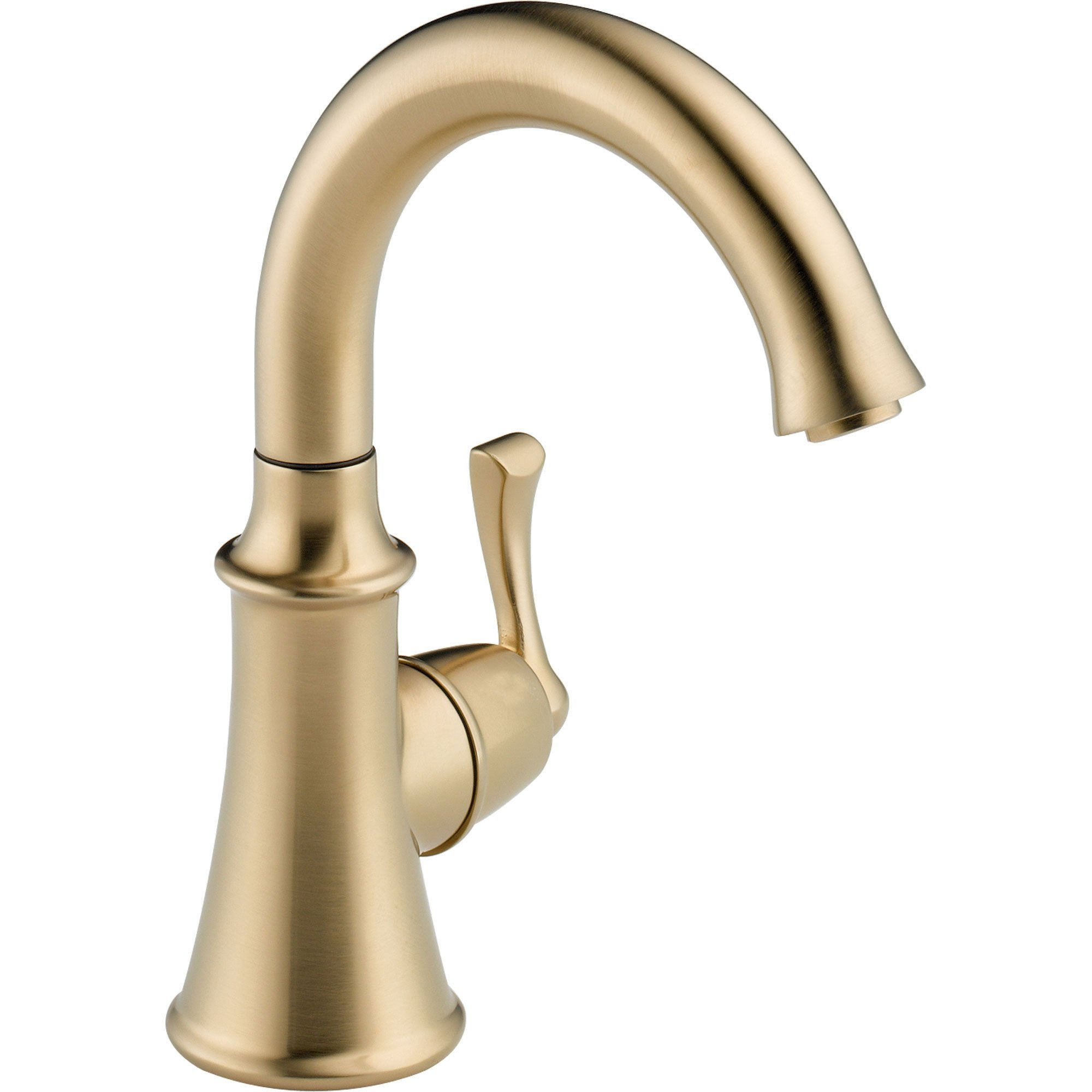 Delta Traditional Single Handle Champagne Bronze Kitchen Beverage Faucet 555920