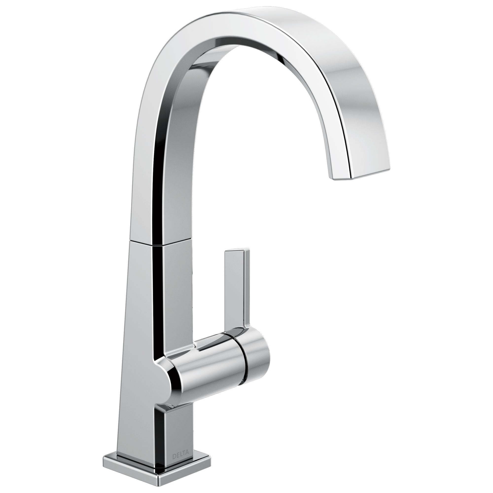 Delta Pivotal Chrome Finish Single Handle Bar Sink Faucet D1993LF