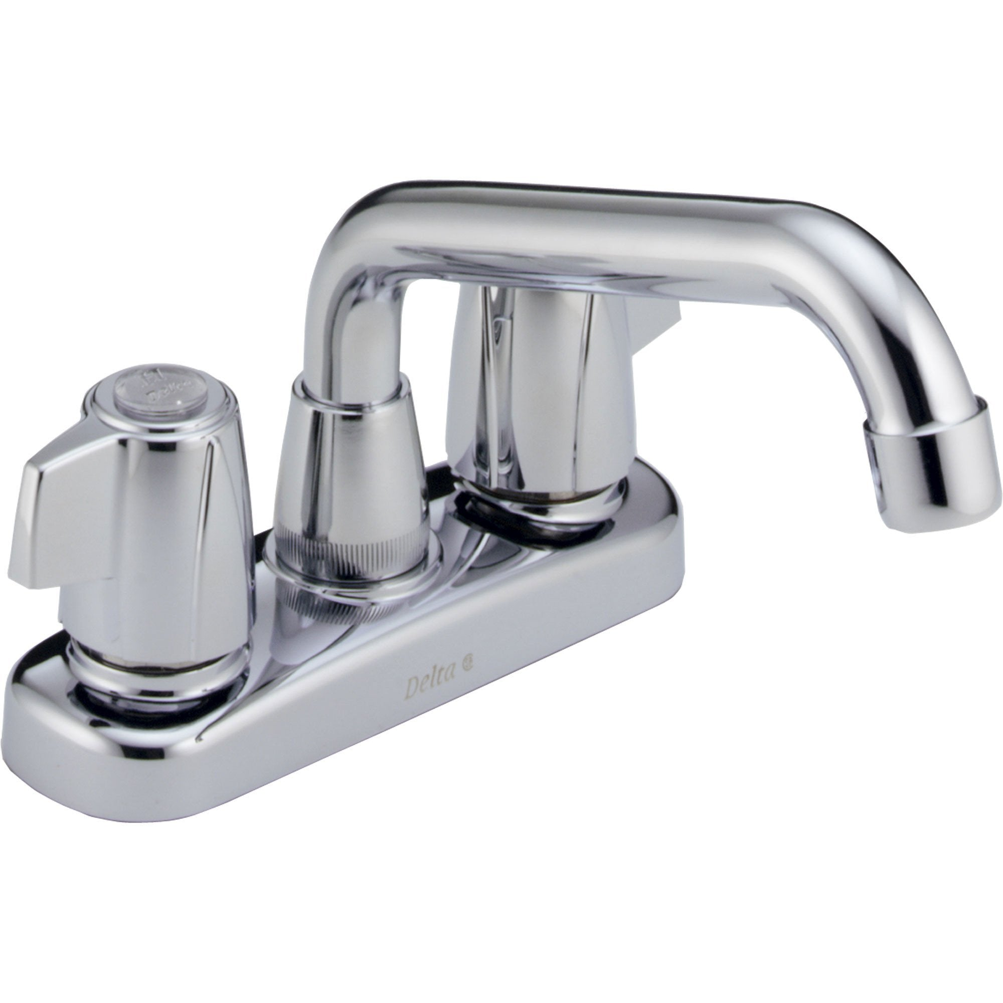 Delta Chrome Finish Two Handle Centerset Laundry Sink Faucet 572900