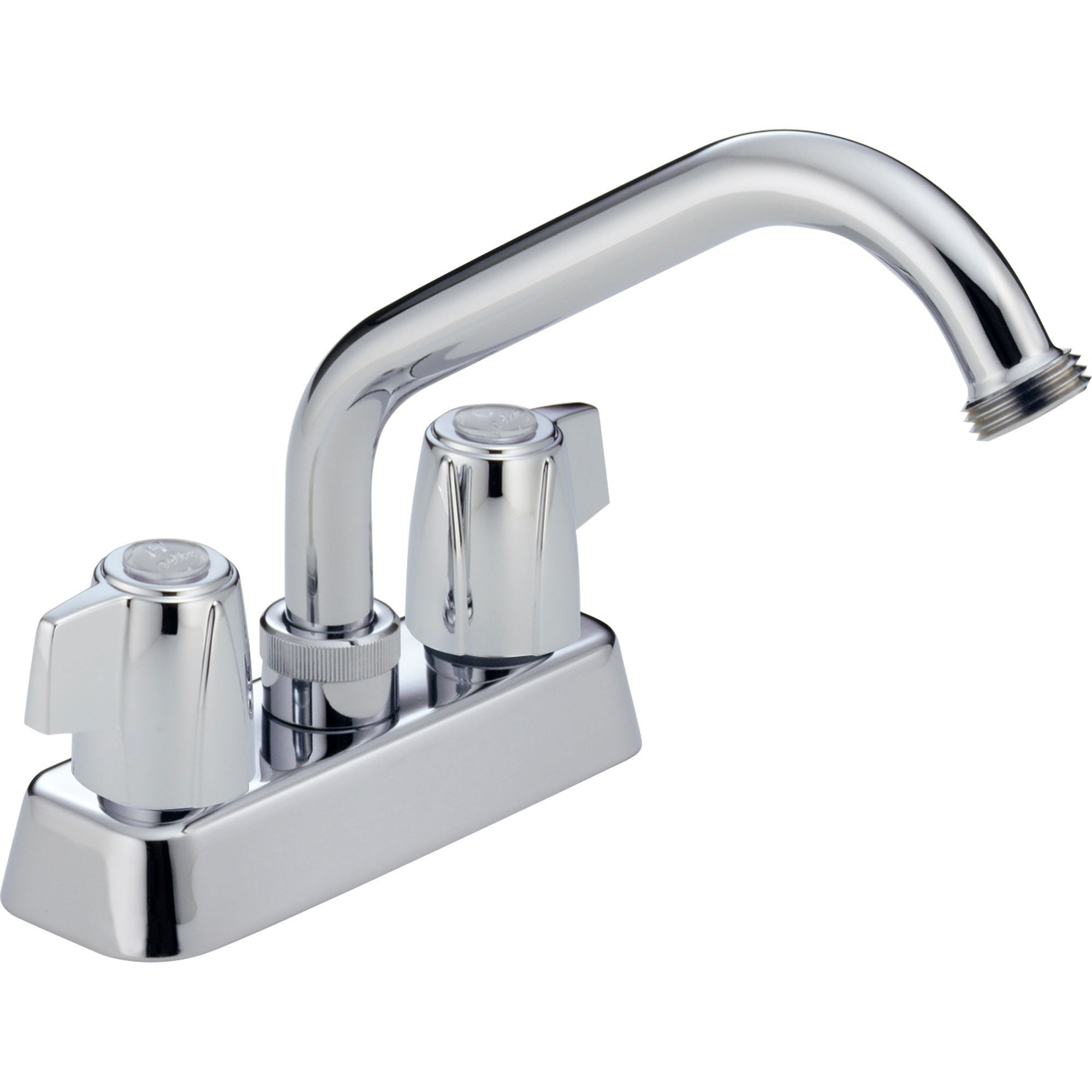 Delta Chrome Finish Two Handle Centerset Laundry Sink Faucet572902