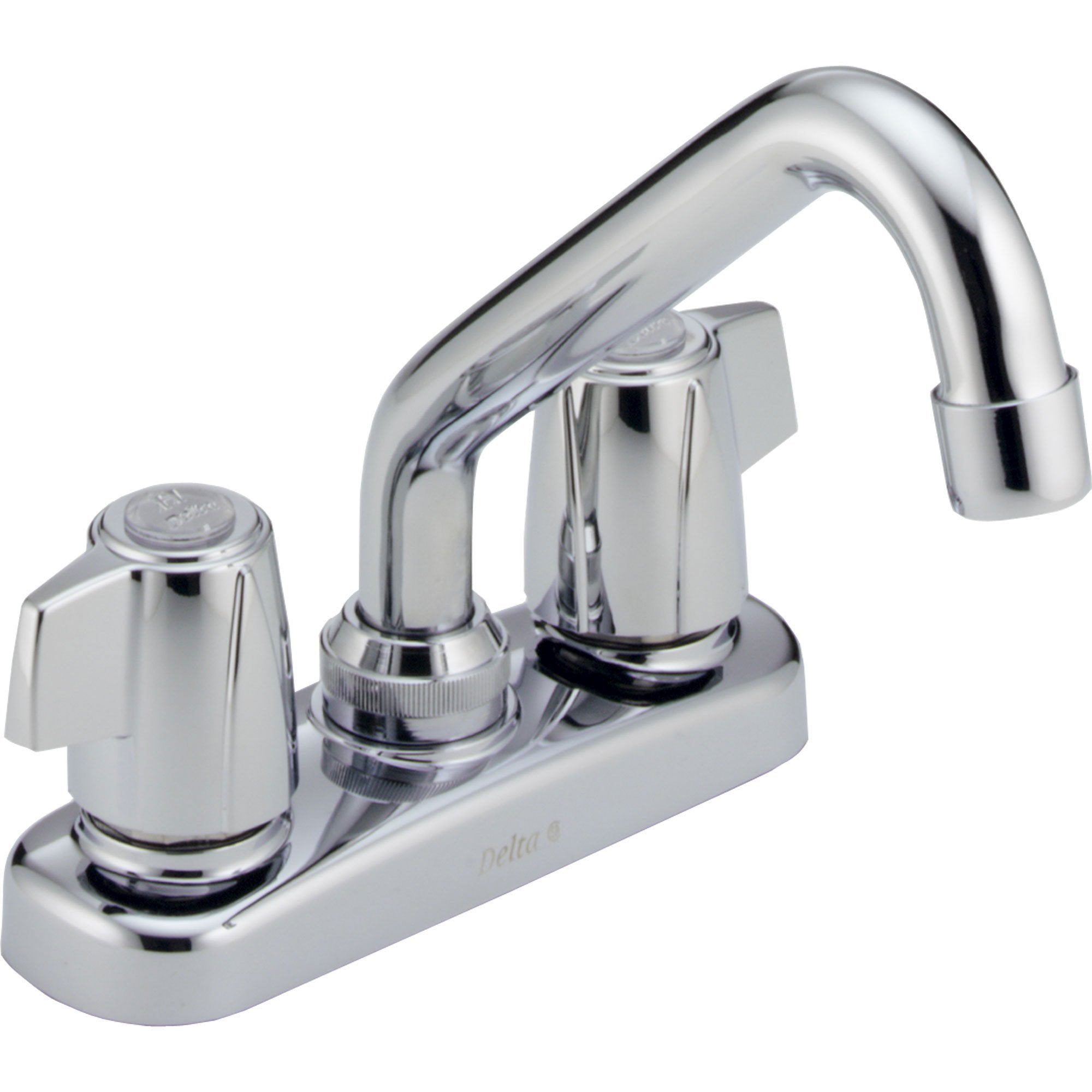 Delta Chrome Finish Two Handle Centerset Laundry Sink Faucet 572903