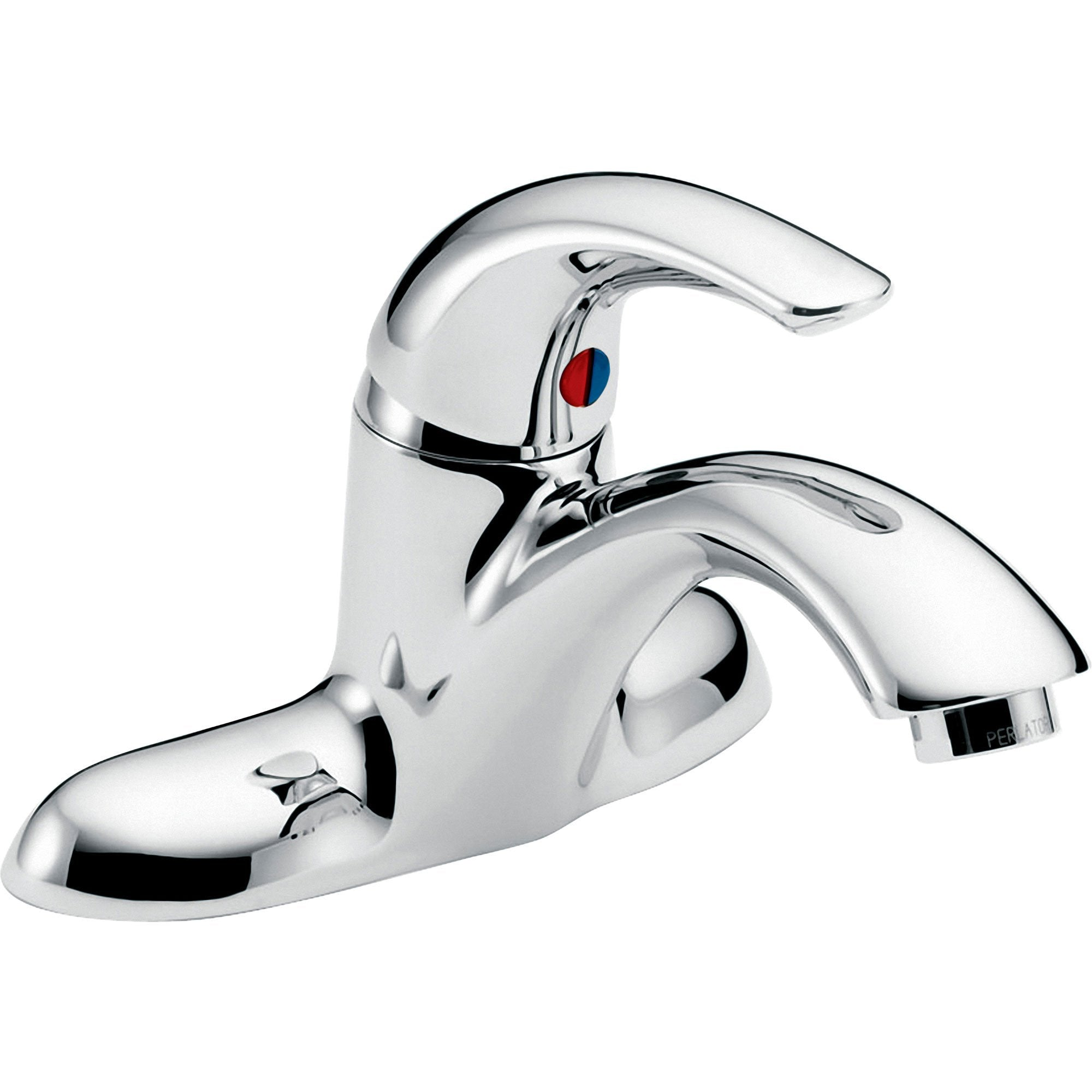 Exceptionnel Delta Teck Two Hole Single Handle Mid Arc Bathroom Faucet In Chrome 66    FaucetList.com