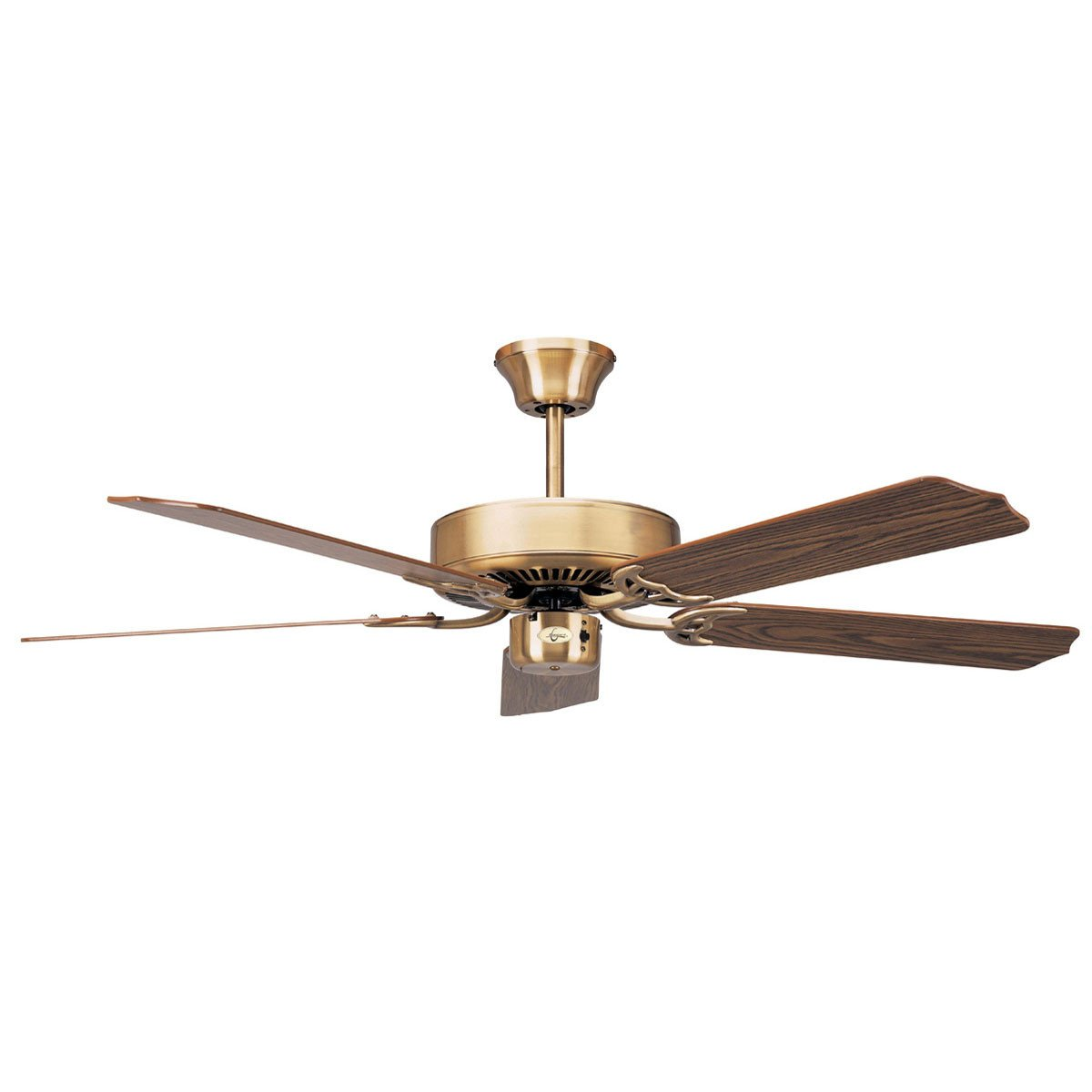 "Concord Fans 42"" California Home Energy Saver Antique Brass Small Ceiling Fan"
