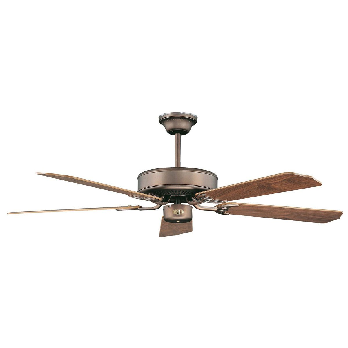"Concord Fans 42"" California Energy Saver Oil Brushed Brass Small Ceiling Fan"
