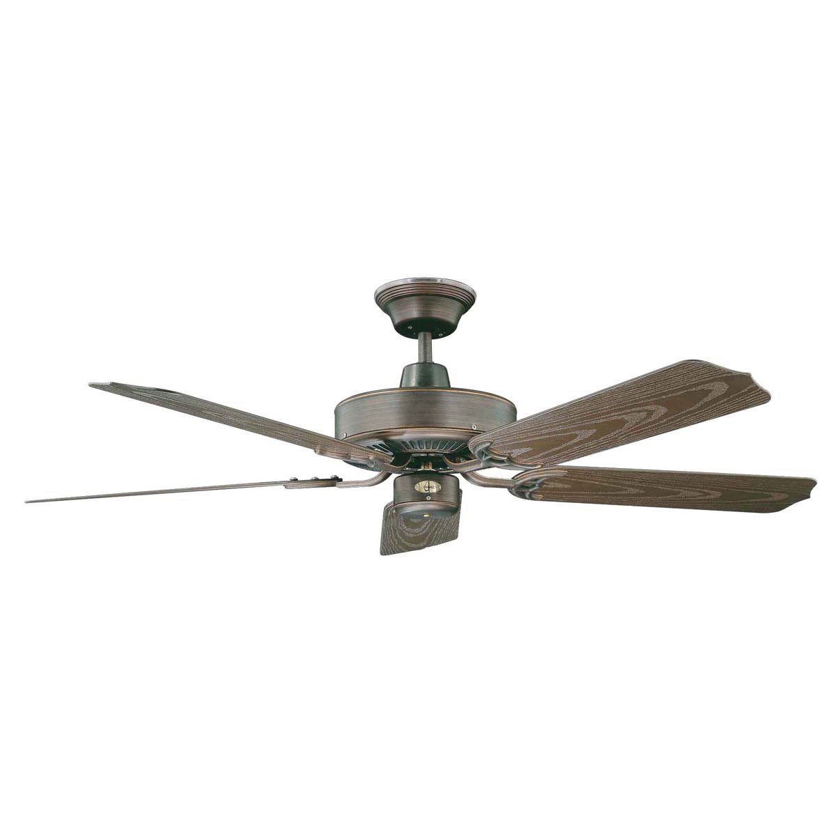 "Concord Fans 44"" Wet Location Oil Rubbed Bronze Small Outdoor Ceiling Fan"