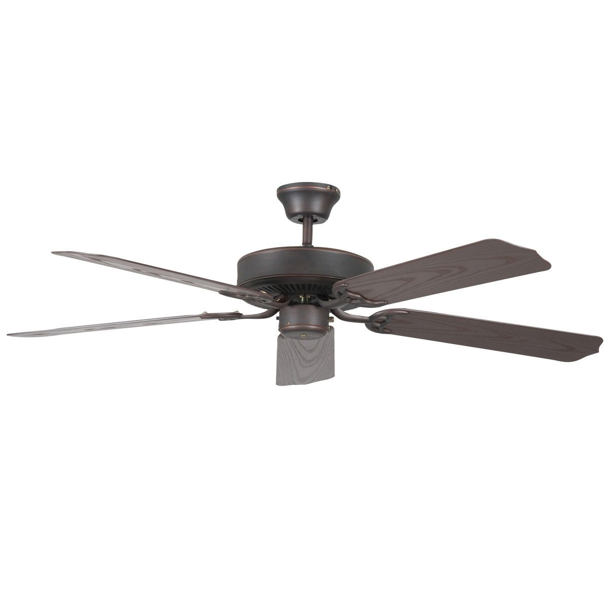 "Concord Fans 44"" Oil Rubbed Bronze Porch Small Outdoor Ceiling Fan"