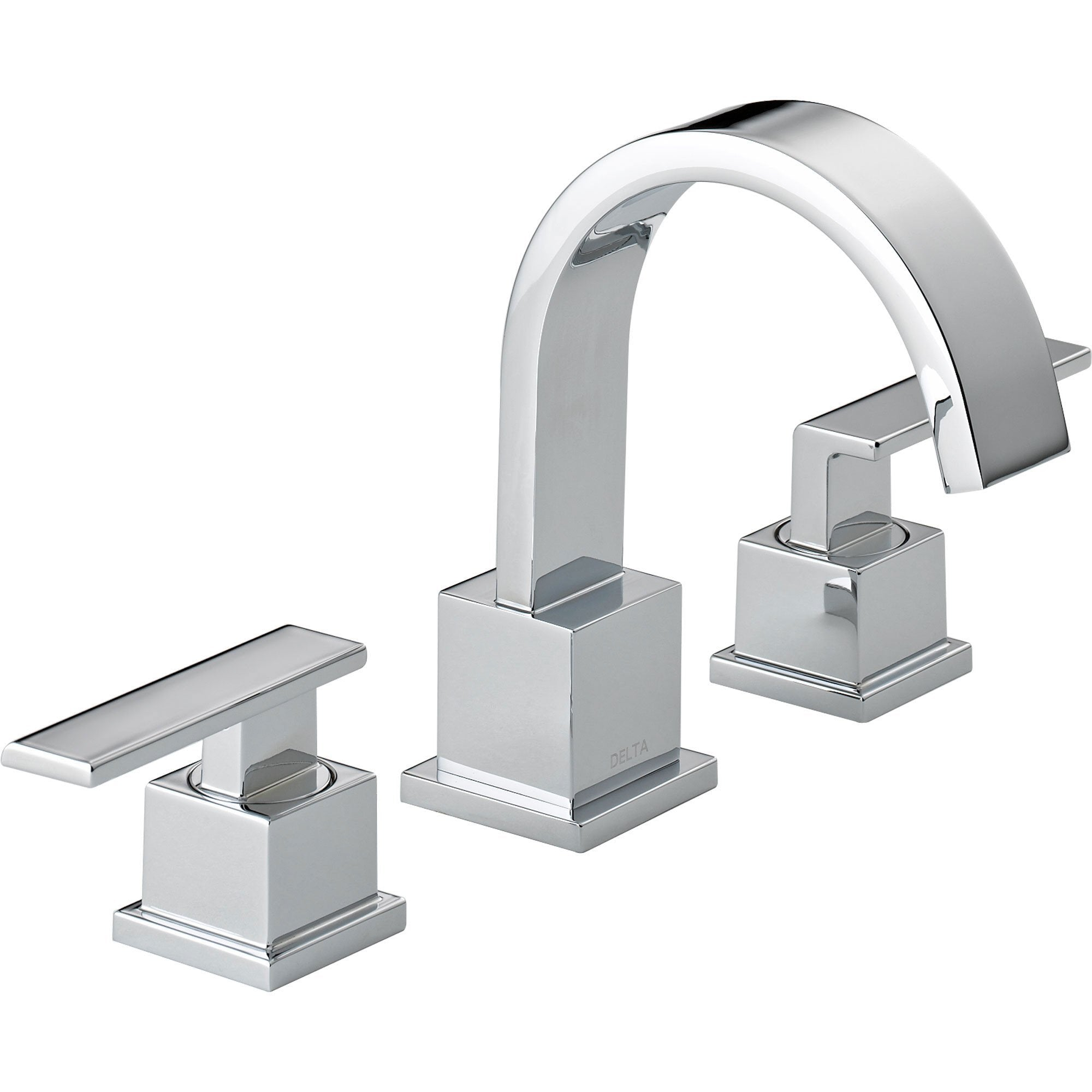 Delta Vero 8 in. Widespread 2-Handle High Arc Bathroom Faucet in Chrome 521802