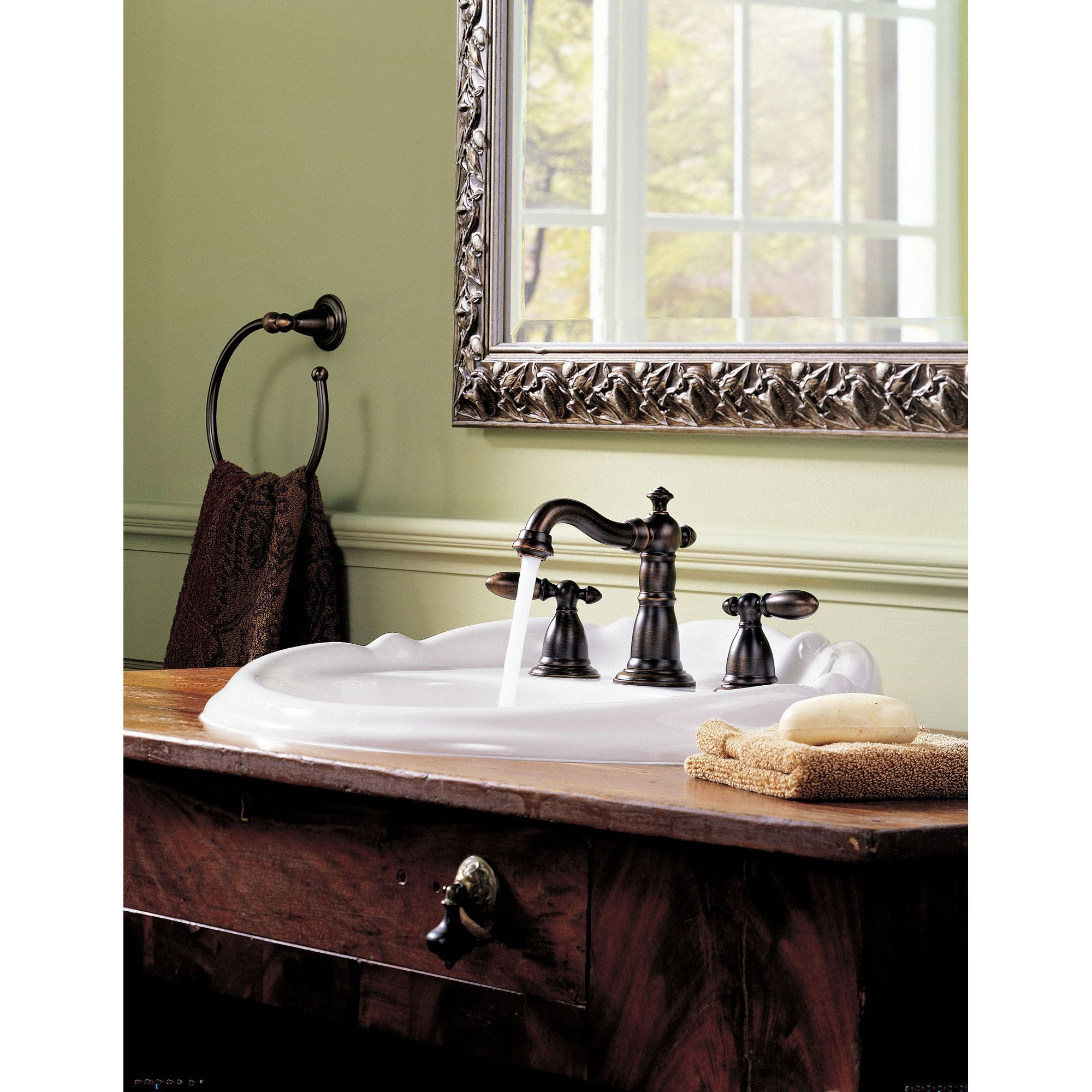 Delta Victorian Collection Venetian Bronze Finish Traditional Style ...