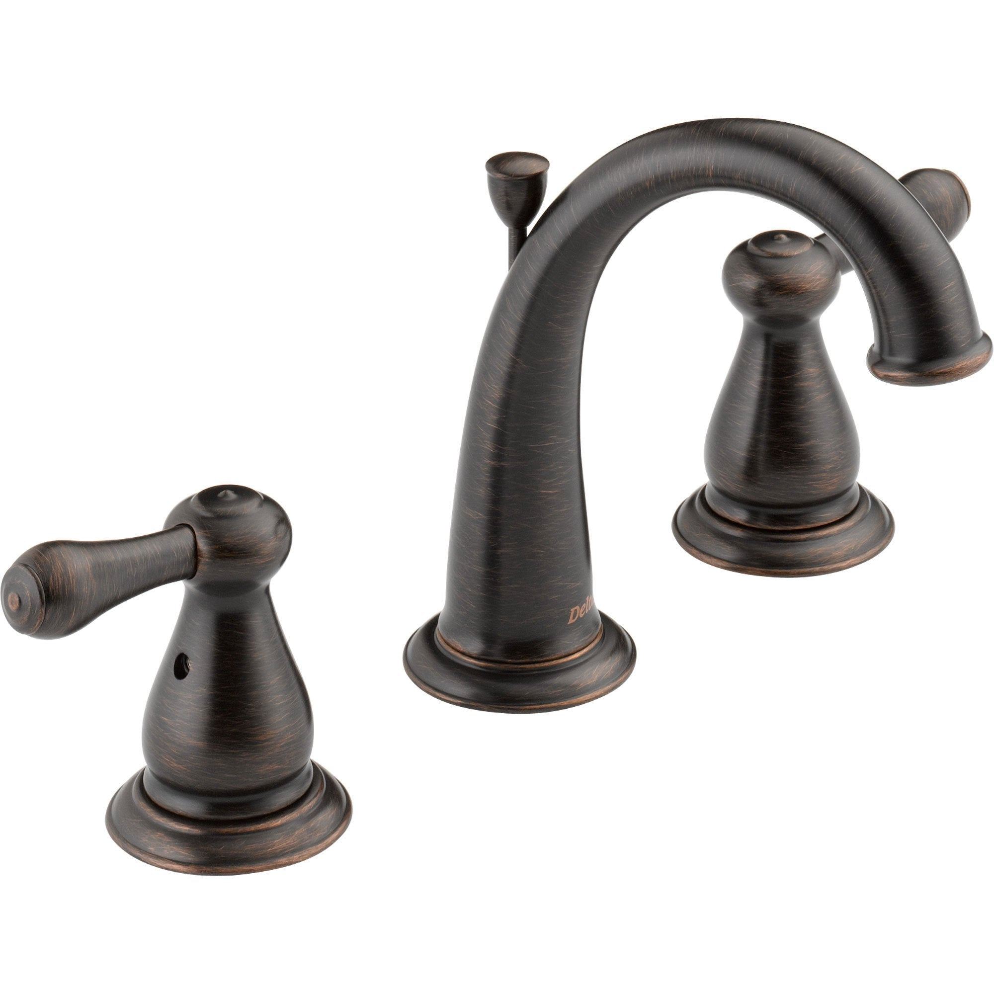 Delta Leland 8 in. Widespread High Arc Bathroom Faucet in Venetian Bronze 572934