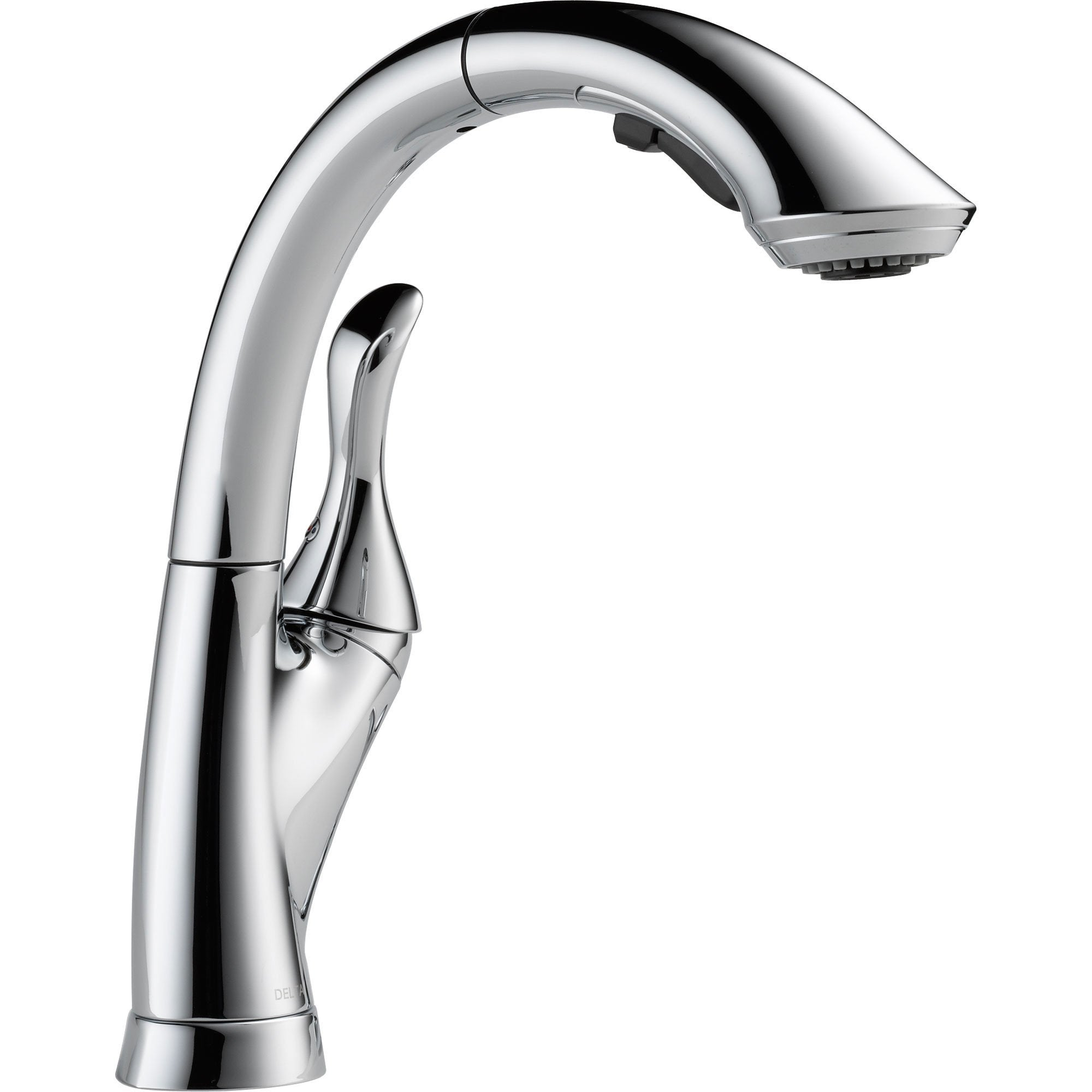 Delta Linden Single Handle Pull-Out Sprayer Kitchen Faucet in Chrome 522004