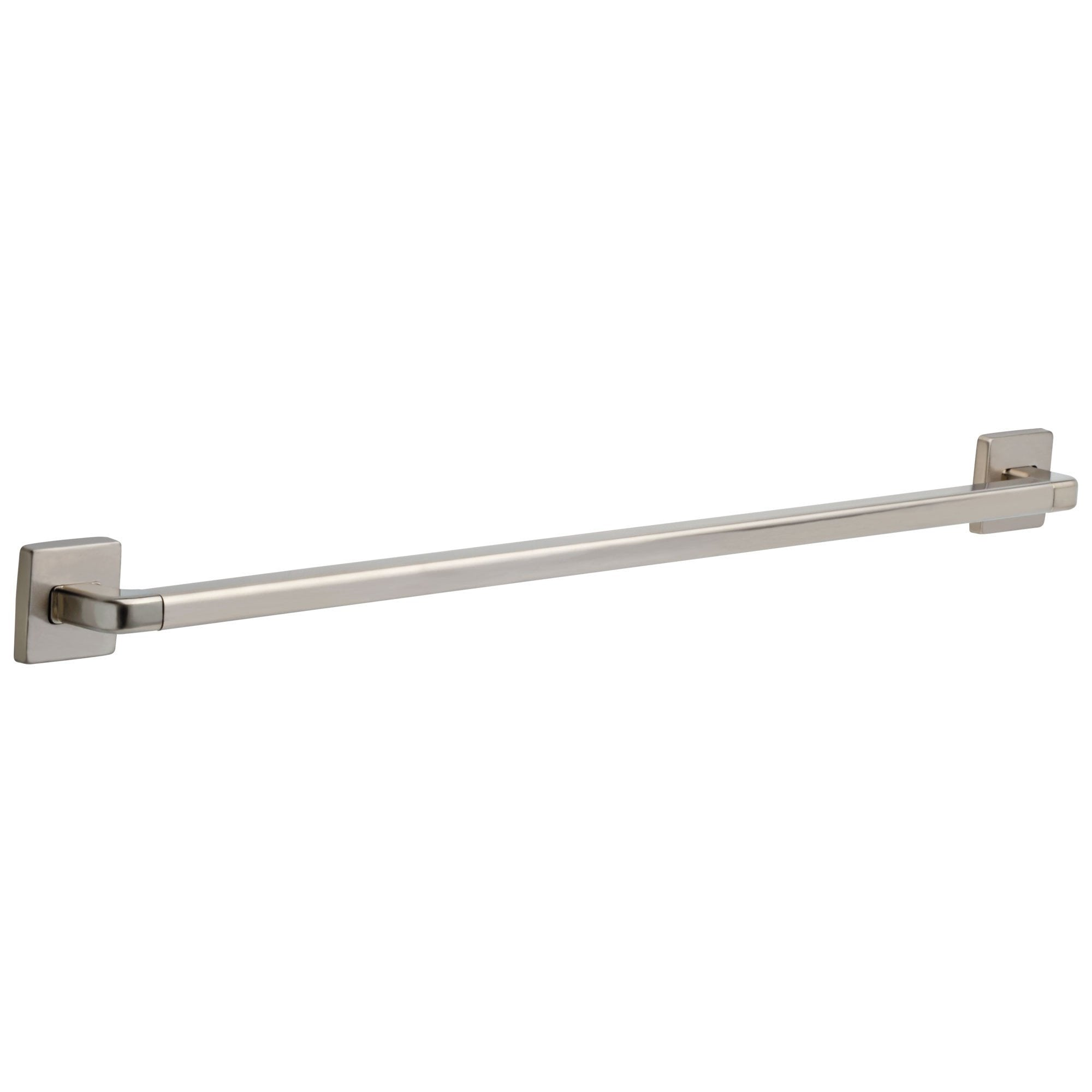 "Delta Bath Safety Collection Stainless Steel Finish Angular Modern Decorative Wall Mount 36"" Long ADA Grab Bar D41936SS"