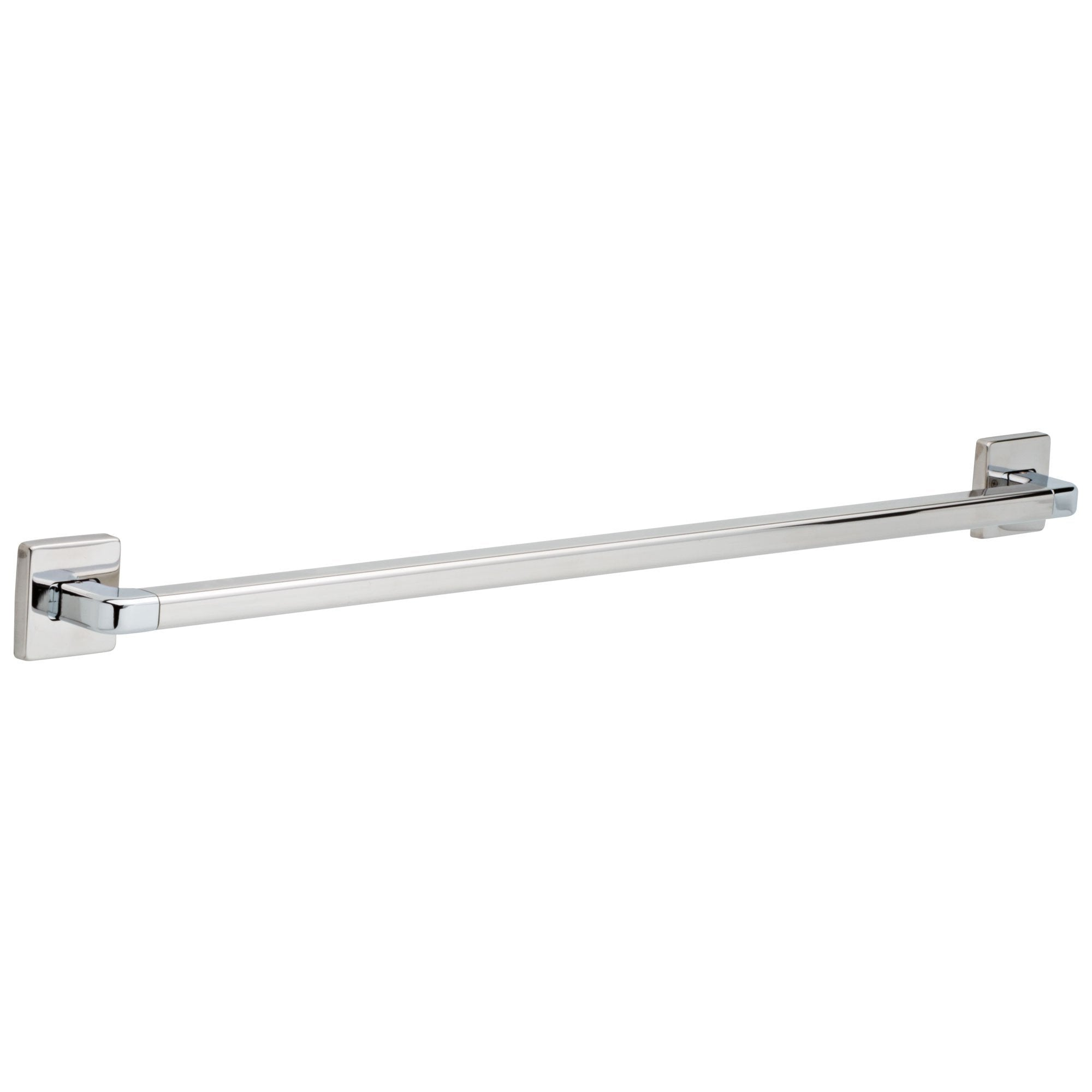 "Delta Bath Safety Collection Chrome Finish Angular Modern Decorative ADA Approved Wall Mount 36"" Long Grab Bar D41936"