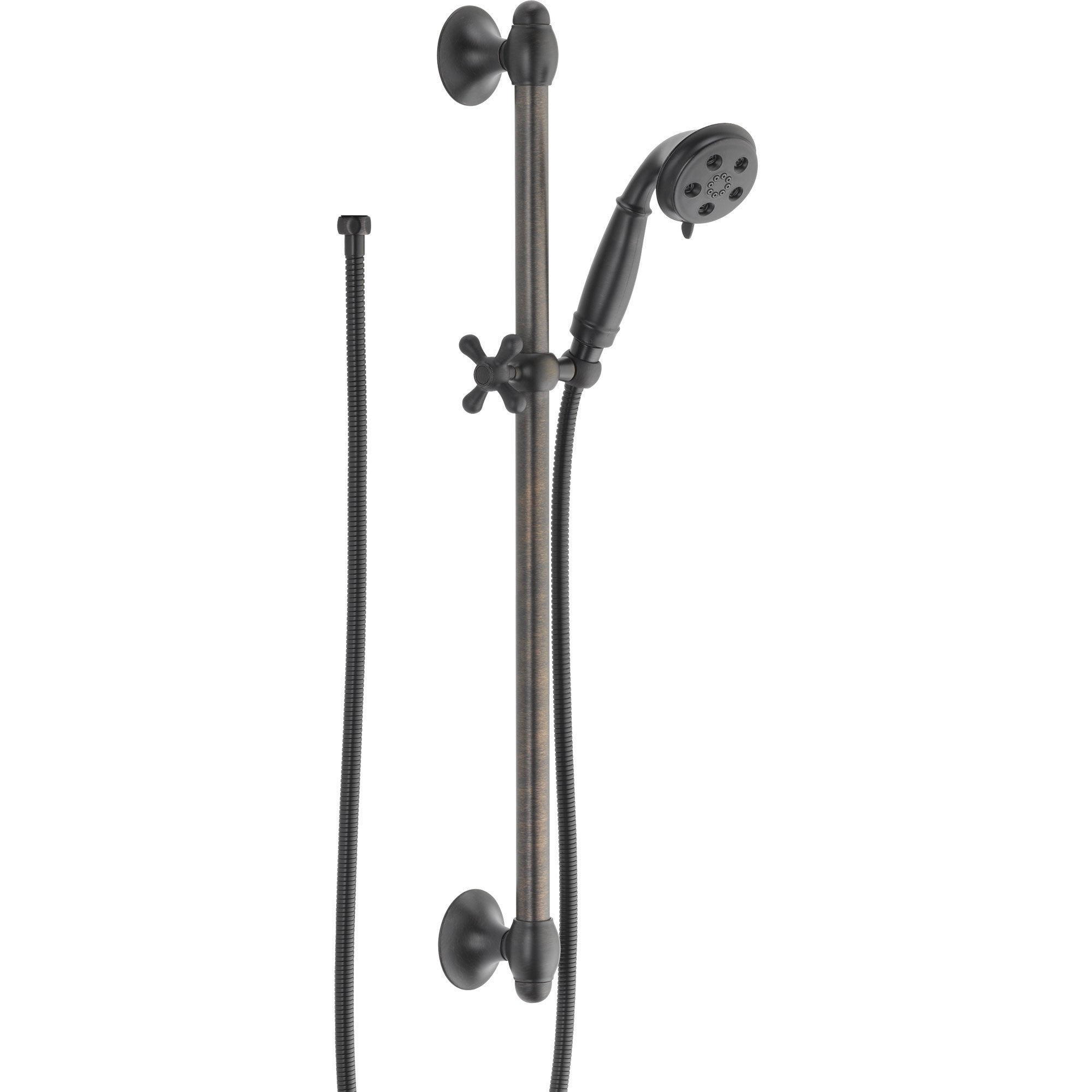 Delta H2Okinetic 3-Spray Handshower with Slide Bar in Venetian Bronze 604243