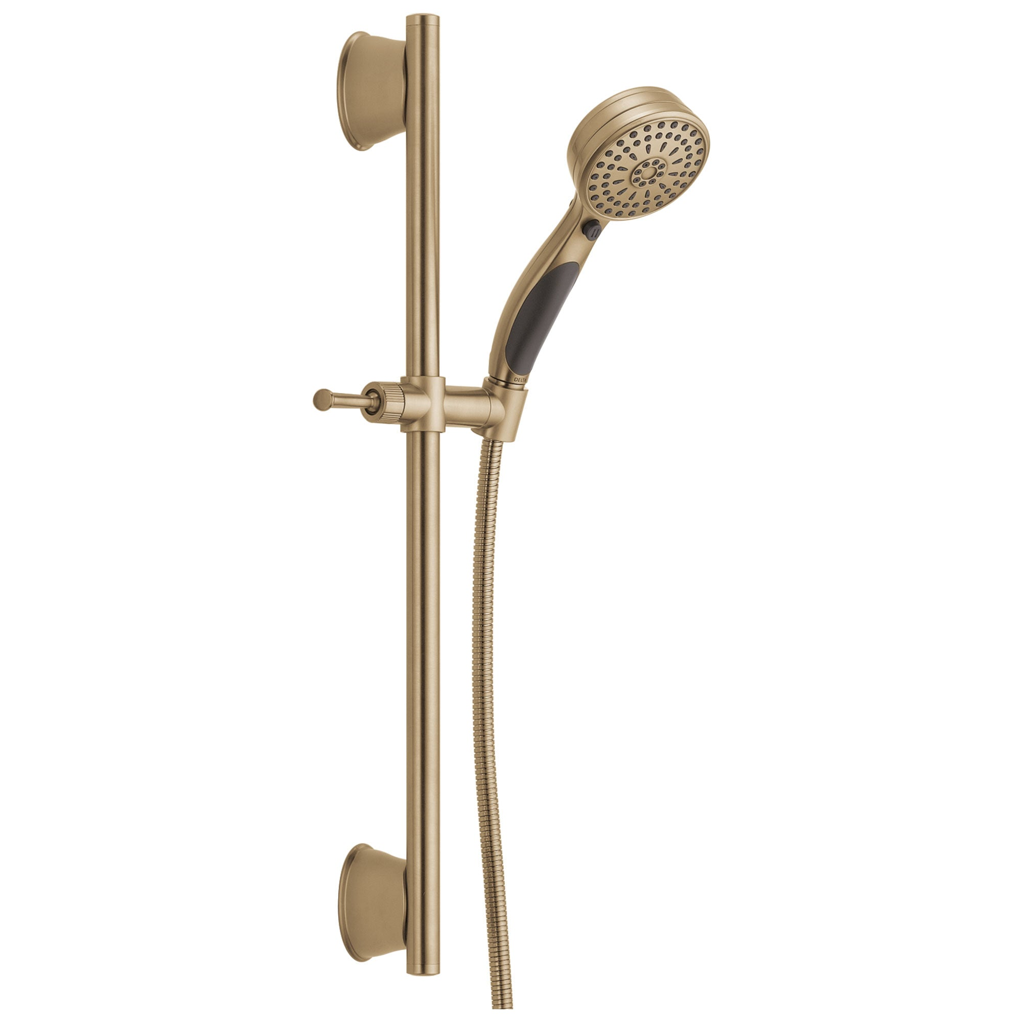 Delta Champagne Bronze Finish 9-Setting ActivTouch Hand Shower with Slide Bar and Hose D51549CZ