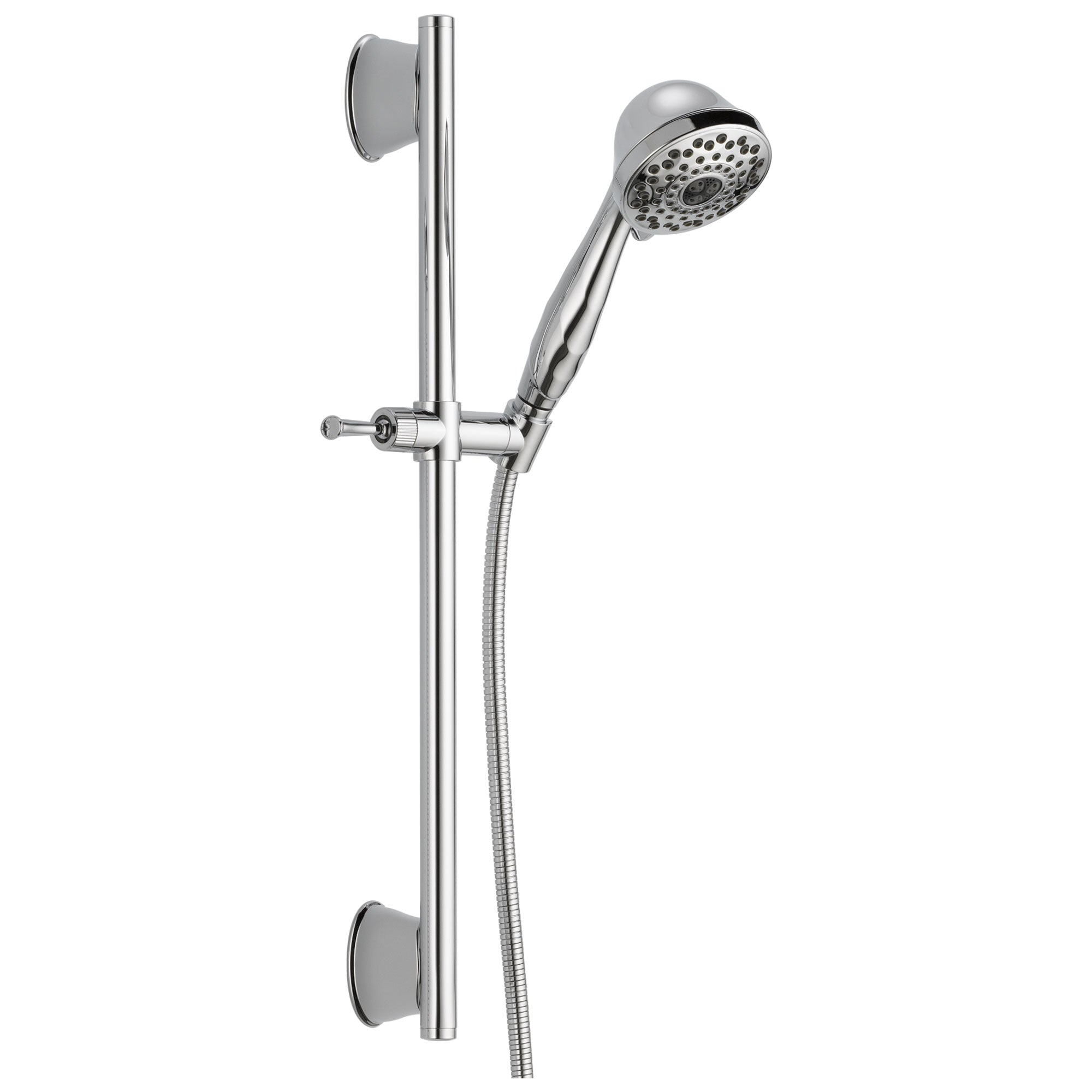 Delta Universal Showering Components Collection Chrome Finish Handheld Faucetlist Com