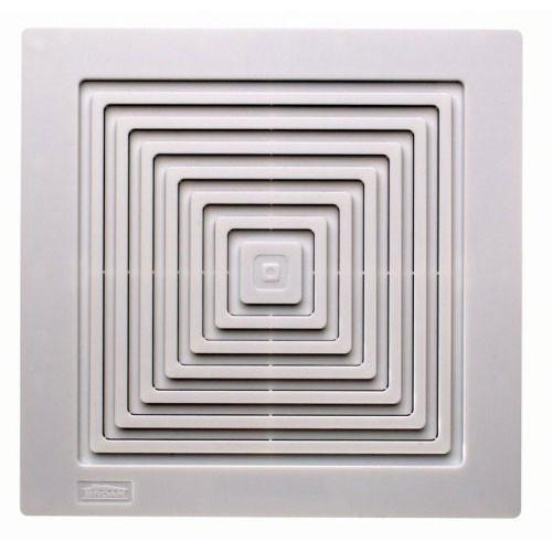 Broan 671 White 70 CFM Ceiling or Wall Mount Bathroom Ventilation Exhaust Fan