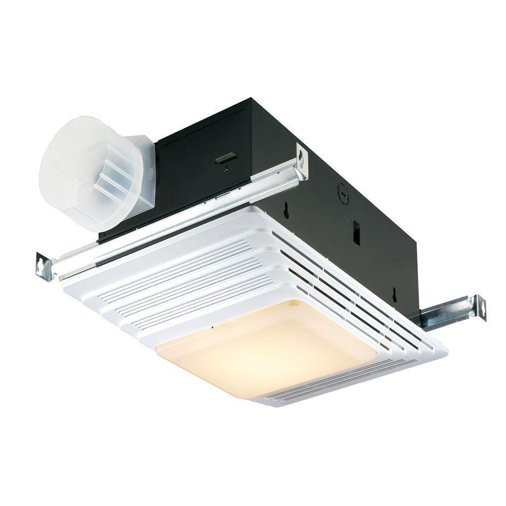 Bon Broan 655 White Bathroom Ventilation Fan With And Heater And Light  Combination