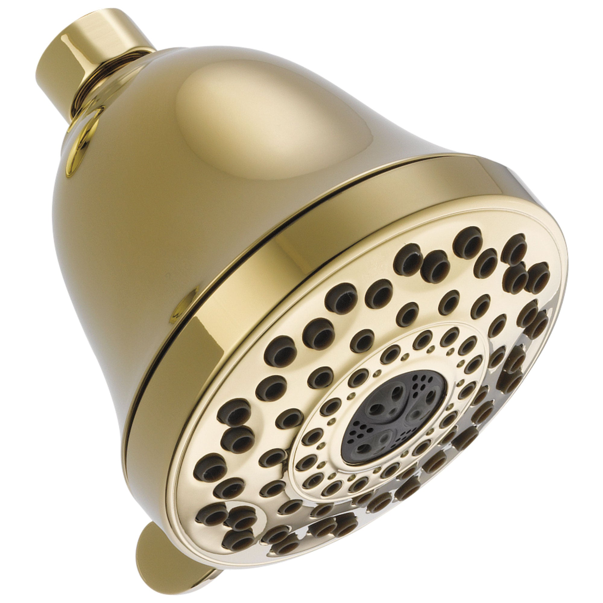 Delta Universal Showering Components Collection Polished Brass Finish 7-Setting Shower Head D52626PBPK