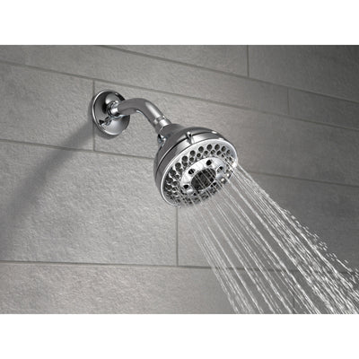 Delta Chrome Finish H2Okinetic 5-Setting Shower Head D5263718PK
