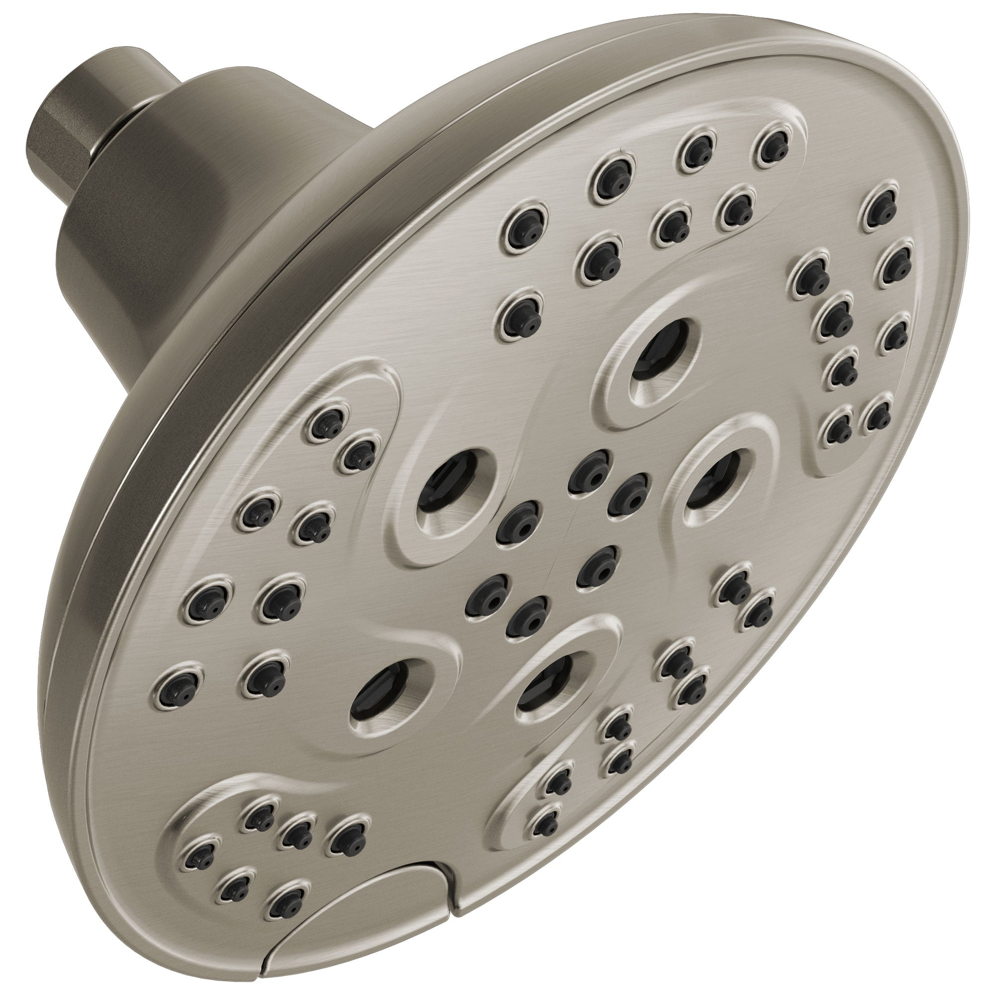 Delta Stainless Steel Finish H2Okinetic 5-Setting Transitional Raincan Shower Head D52666SS
