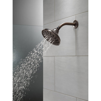 Delta Venetian Bronze Finish H2Okinetic 5-Setting Traditional Raincan Shower Head D52669RB