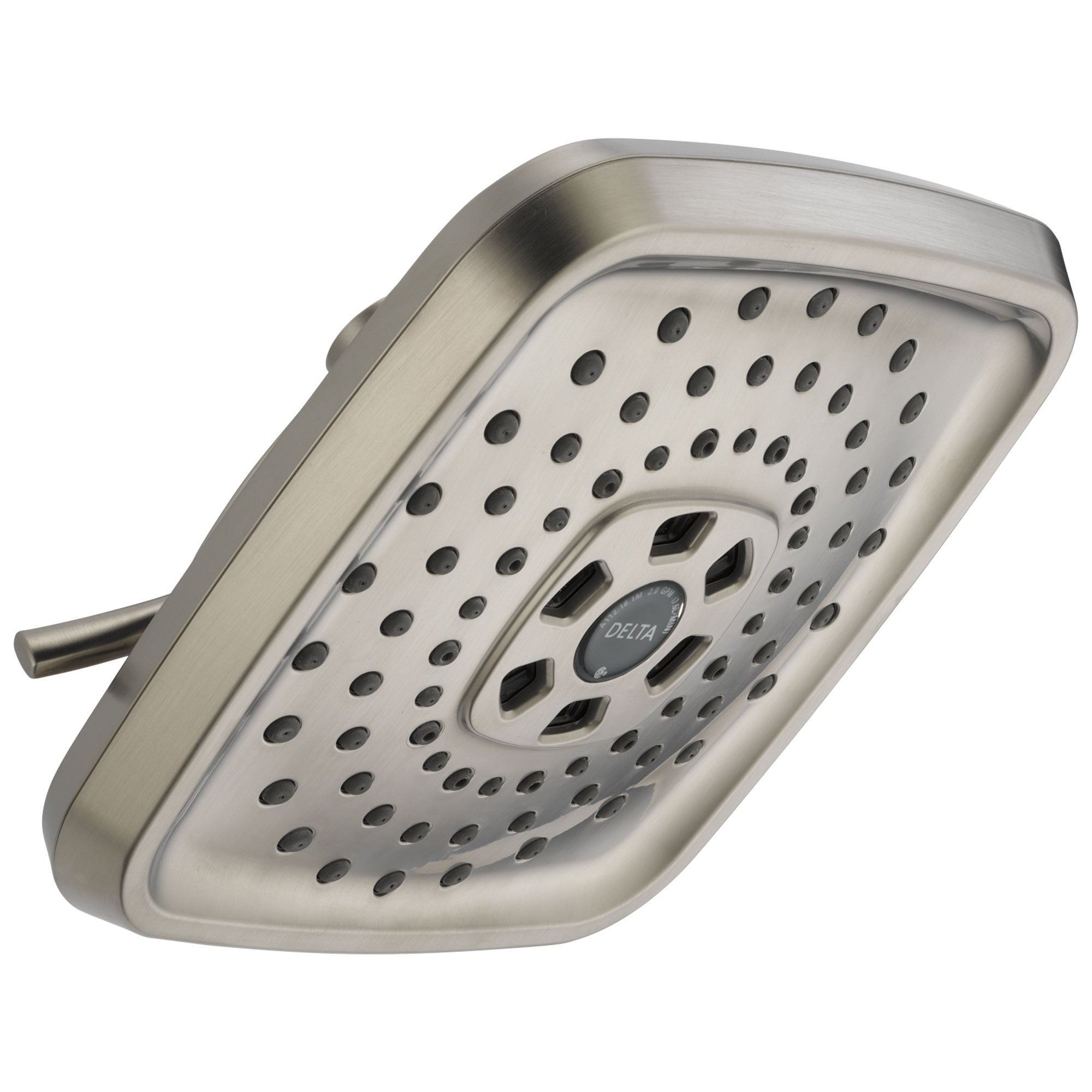 Delta Universal Showering Components Collection Stainless Steel Finish Modern Watersense H2OKinetic Shower Head D52690SS