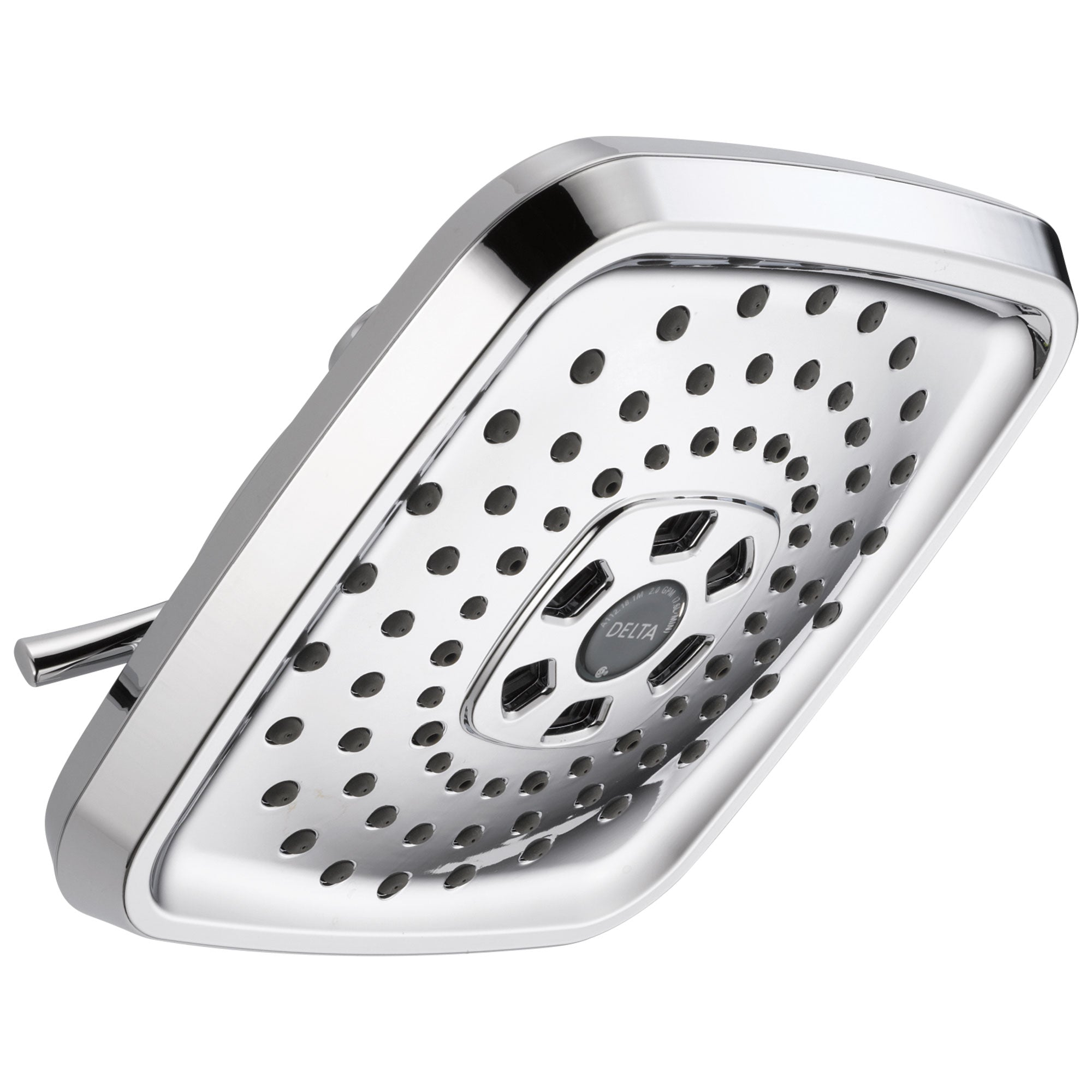 Delta Universal Showering Components Collection Chrome Finish Contemporary Style Shower Head D52690