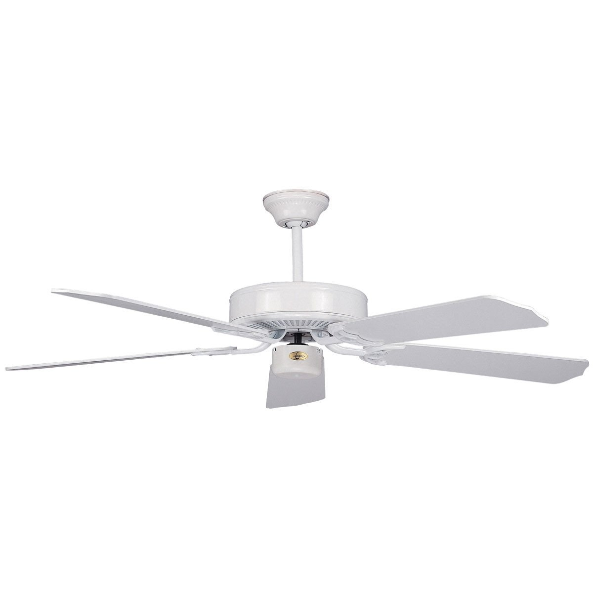 "Concord Fans 52"" California Home Energy Saver Style White Ceiling Fan"
