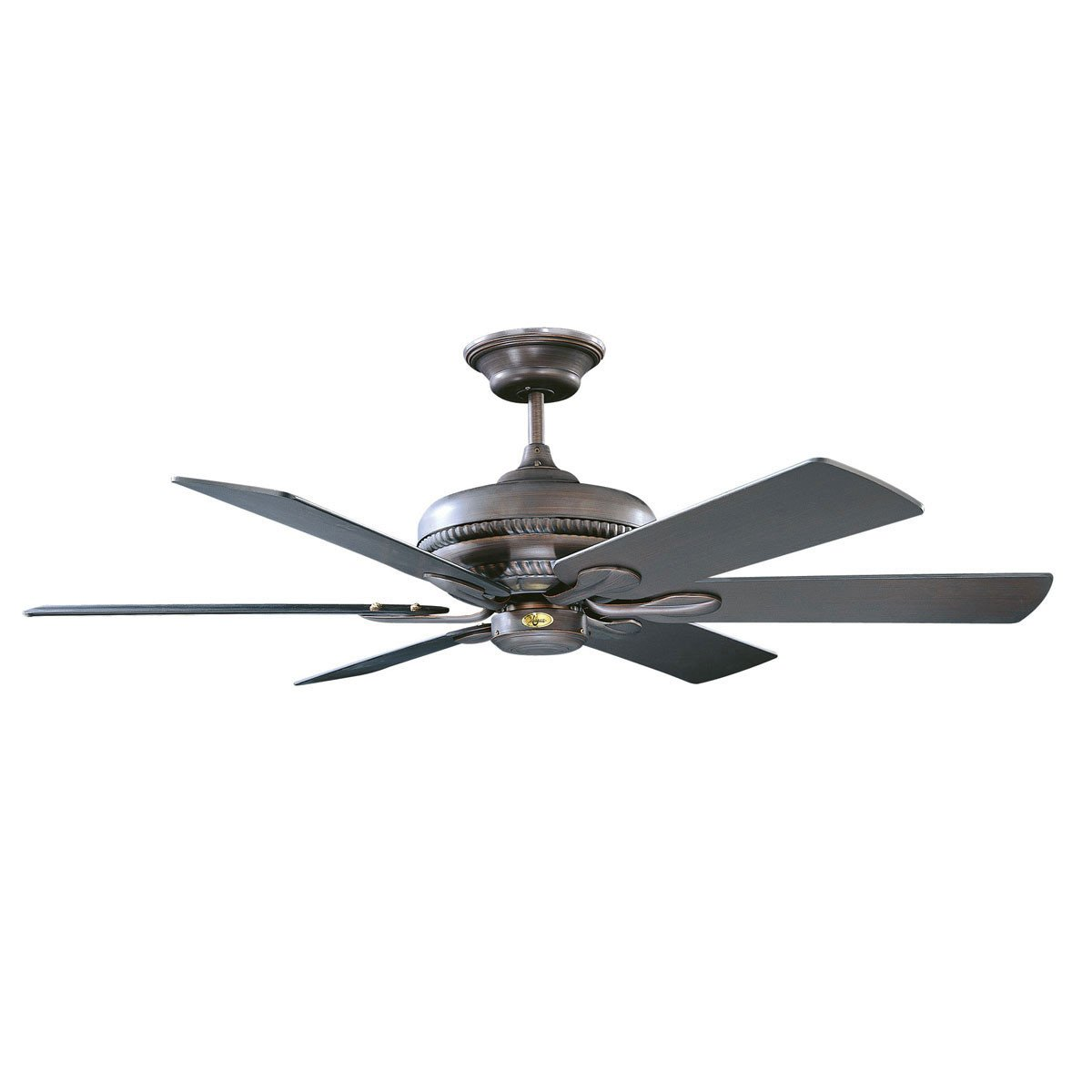 "Concord Fans 52"" Capetown Modern Oil Rubbed Bronze Ceiling Fan with Up-Lights"